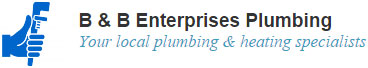 B & B Enterprises Plumbing contact page logo